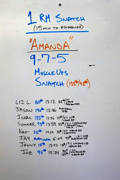 WOD Whiteboard: 5/17/2014