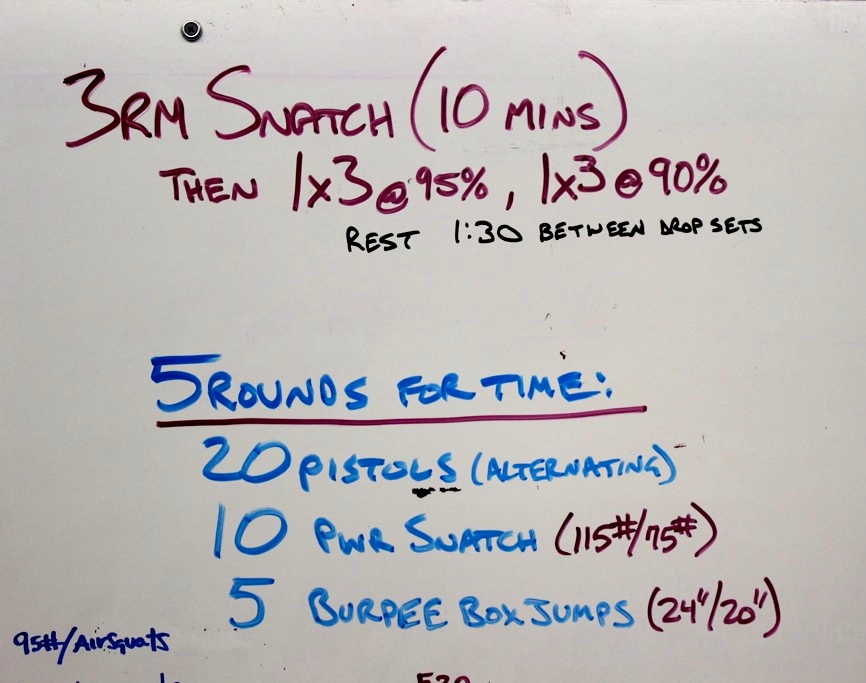 WOD Whiteboard: 5/14/2014