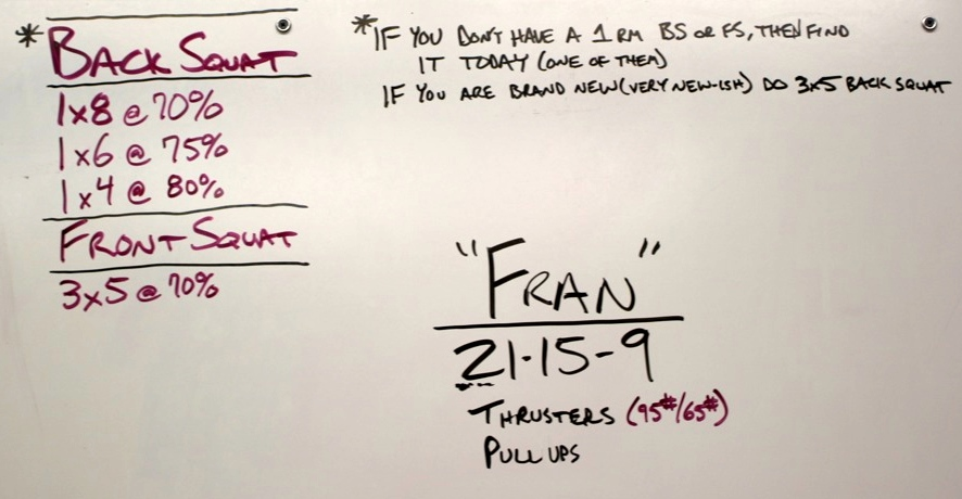 WOD Whiteboard: 5/6/2014