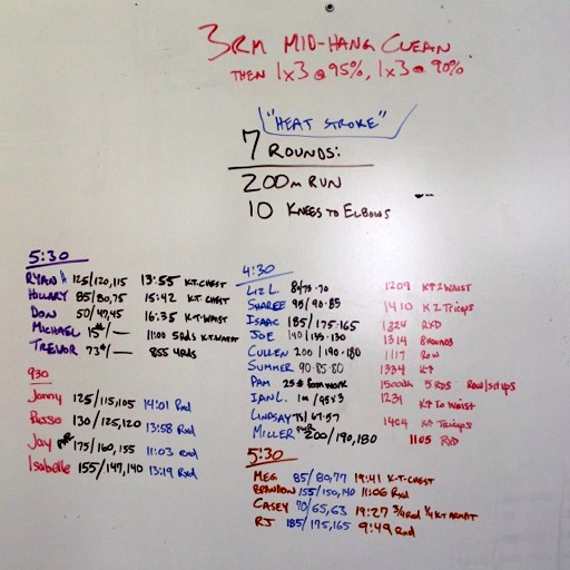 WOD Whiteboard: 6/2/2014