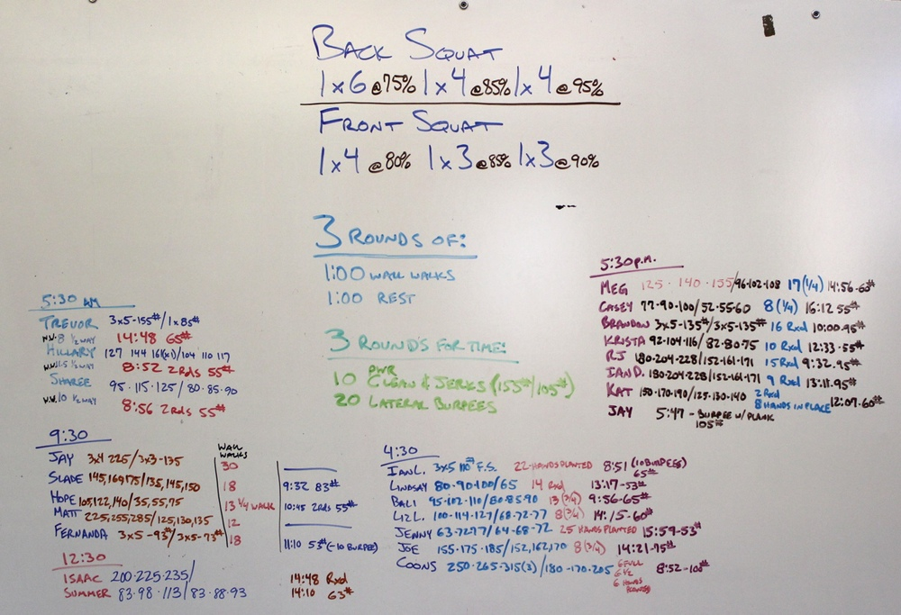 WOD Whiteboard: 6/3/2014