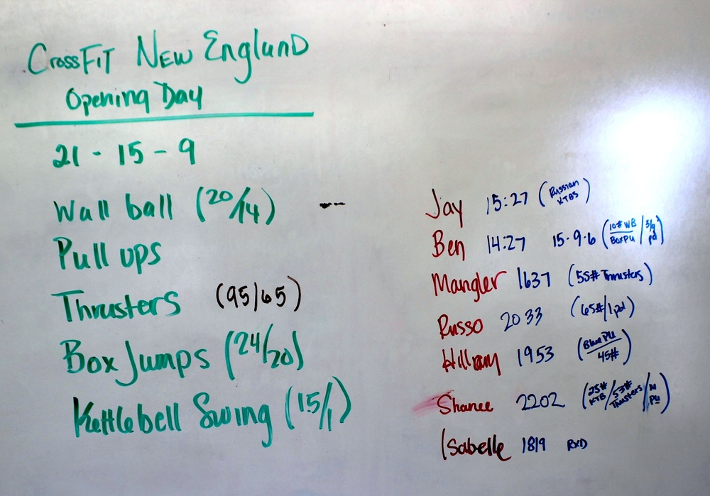 WOD Whiteboard: 6/14/2014