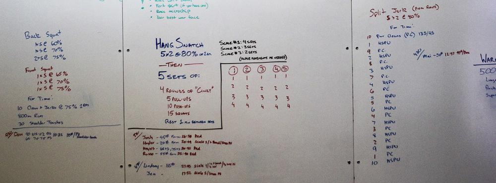 WOD Whiteboard: 07/24/2014