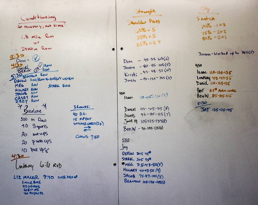 WOD Whiteboard: 09/15/2014