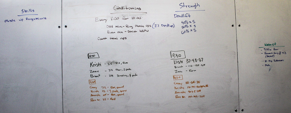 WOD Whiteboard: 10/10/2014