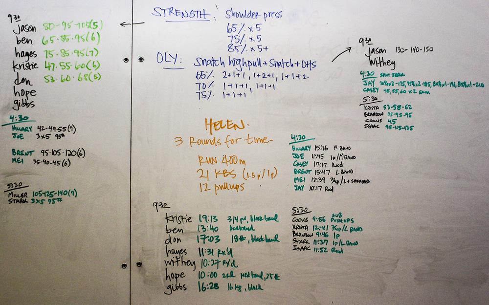 WOD Whiteboard: 10/13/2014