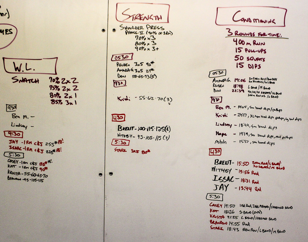 WOD Whiteboard: 10/20/2014