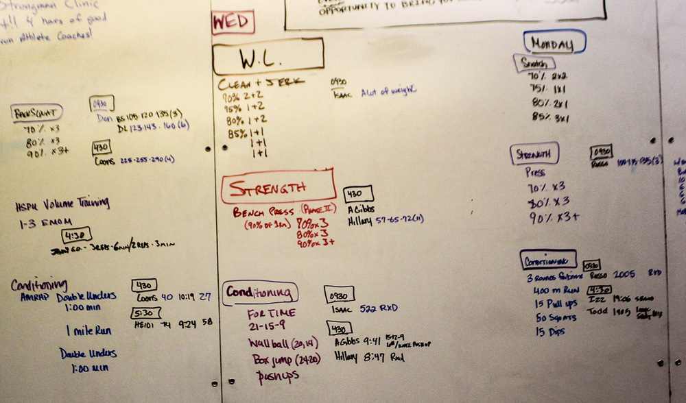 WOD Whiteboard: 10/23/2014