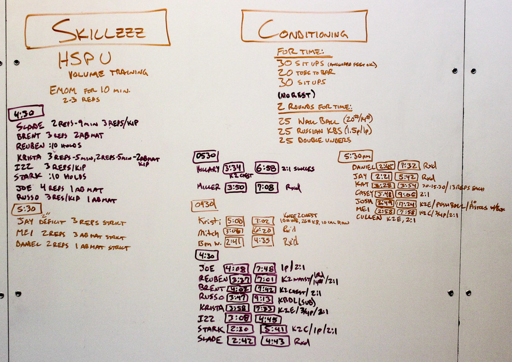 WOD Whiteboard: 11/4/2014