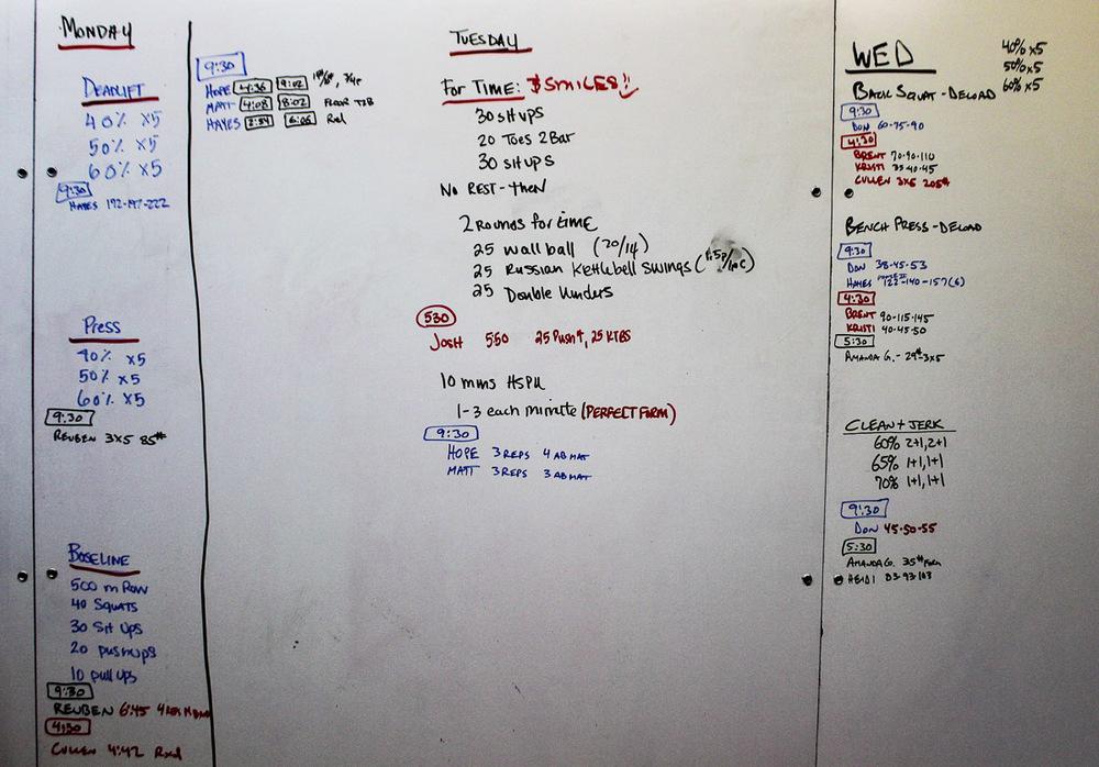 WOD Whiteboard: 11/6/2014