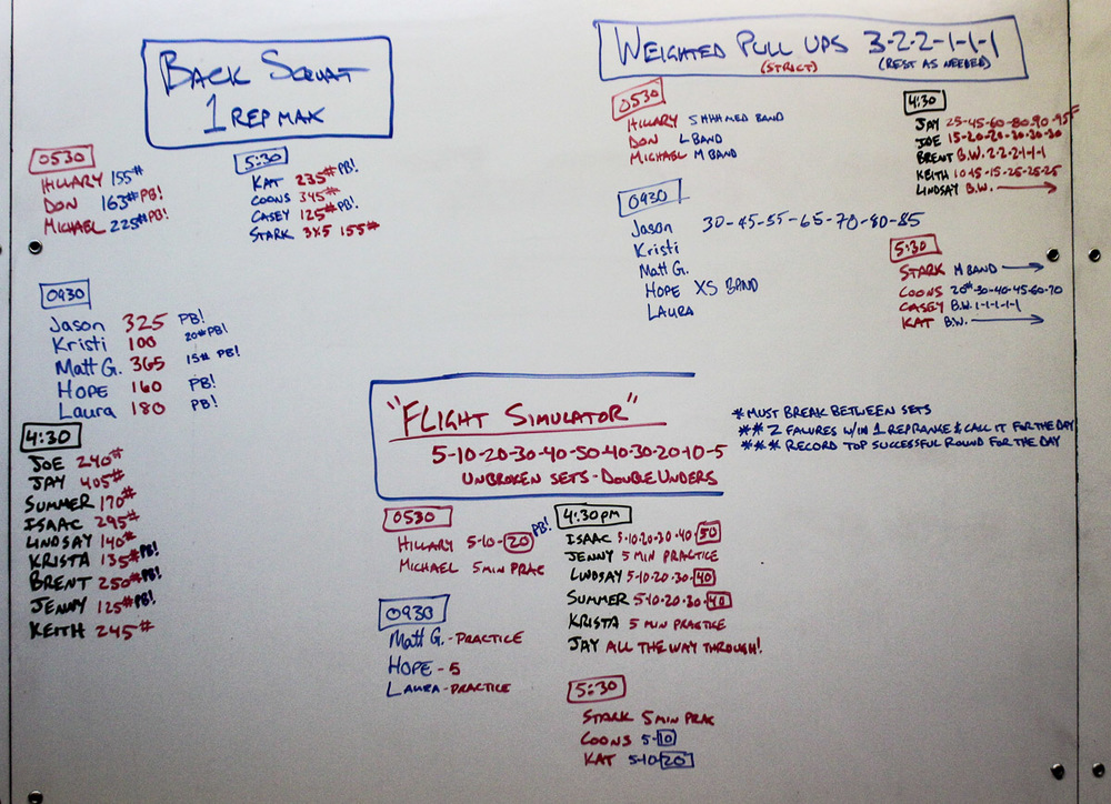 WOD Whiteboard: 11/12/2014