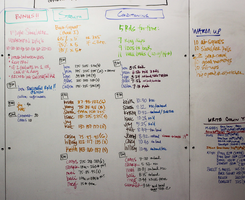 WOD Whiteboard: 11/18/2014