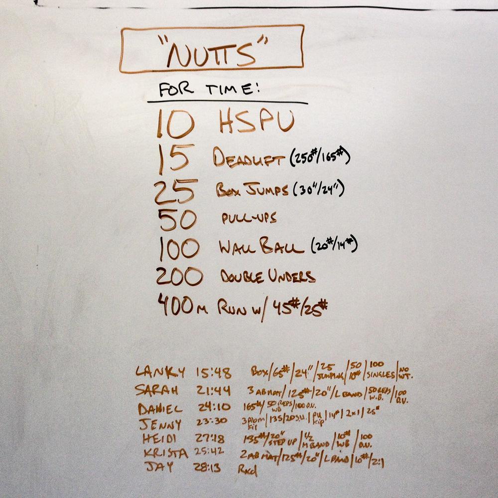 WOD Whiteboard: 12/06/2014