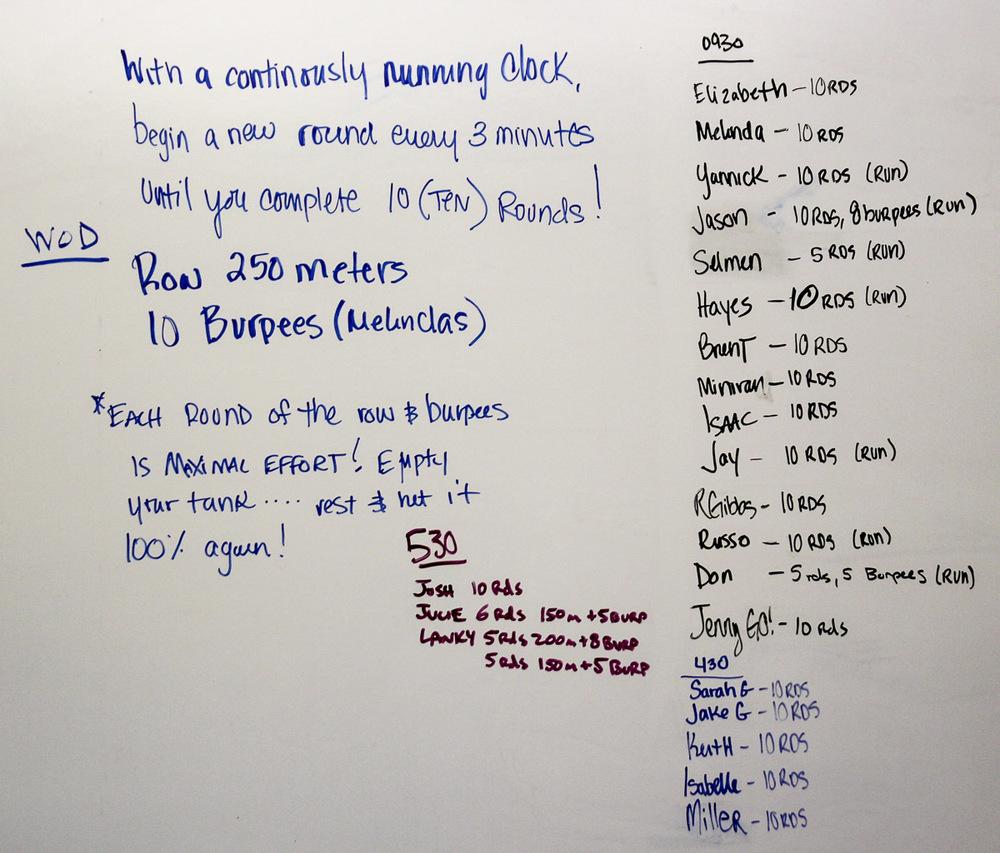 WOD Whiteboard: 12/29/2014