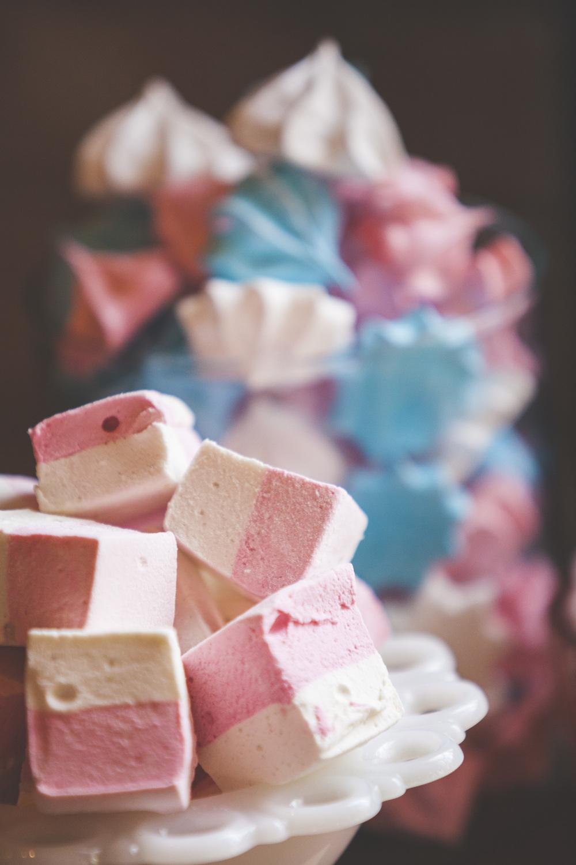 Marshmallow deserts.