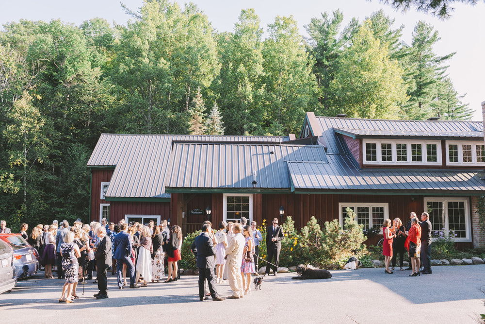 Wedding Reception at Trillium Resort and Spa
