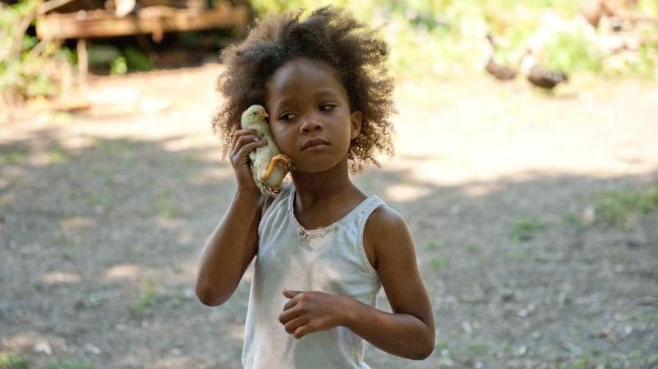 "Best Actress Oscar nominee Quvenzhané Wallis in ""Beasts"""