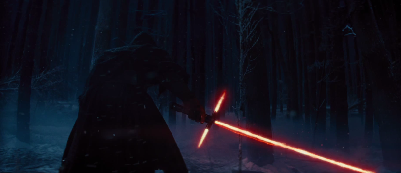 The new light saber may help you handle drunk co-workers at the company holiday party.