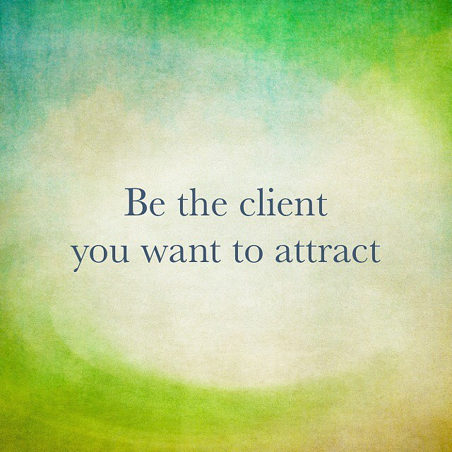 "Be the client or customer you want to attract. A very senior businessman once told me: ""Difficult clients only lead to more difficult clients...you end up attracting more clients that act just like your existing clients. They refer each other, they seek you out since you seem to work with people like them...Be the client you want to attract, and focus on clients who are how you are..."" Have YOU found this to be true? Share your thoughts in the comments! 👇🏾👇🏾👇🏾 #realestate 🏣 #entrepreneurmindset 🤔#letsgo 👊🏾"