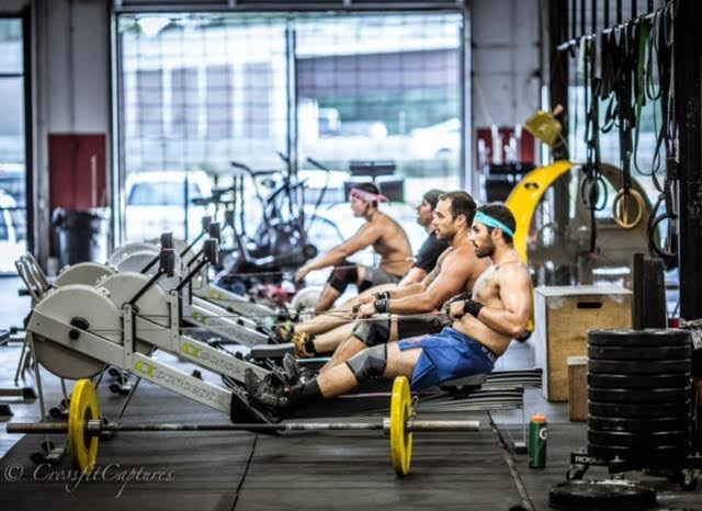 EaDo Elite Athletes on a recent rowing WOD   Photo Credit: Sierra Prime
