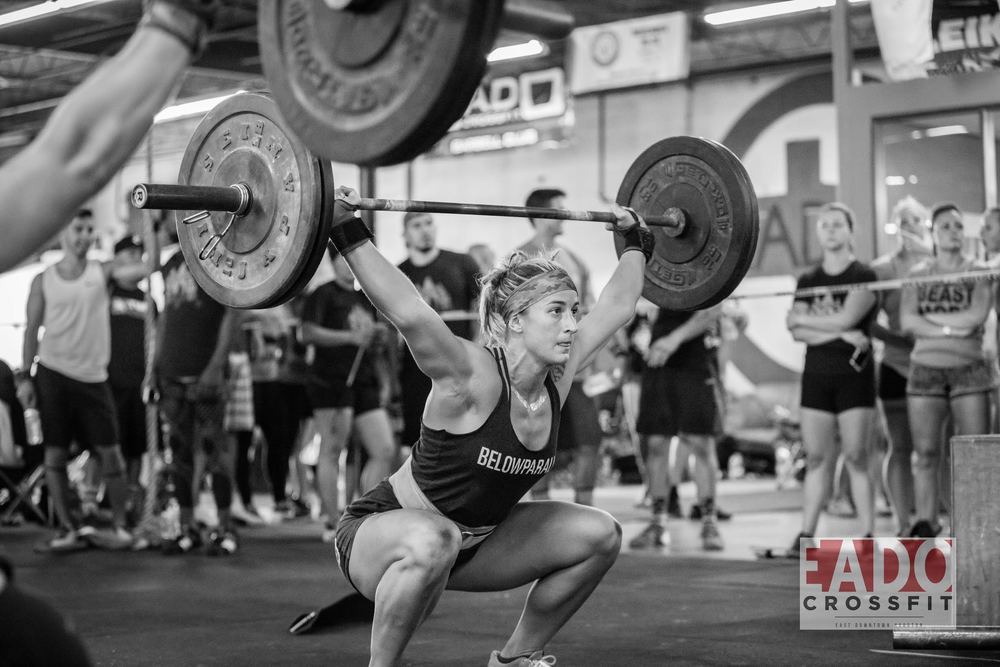 Coach Jenn Jones Competing at Team SuperFit Photo Credit: Sierra Prime