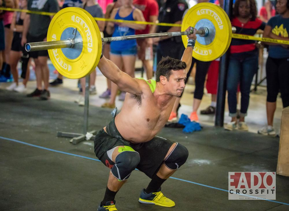 EaDo Elite Athlete and coach Shane Rojas competing at Team SuperFit Houston.    Photo Credit: Sierra Prime