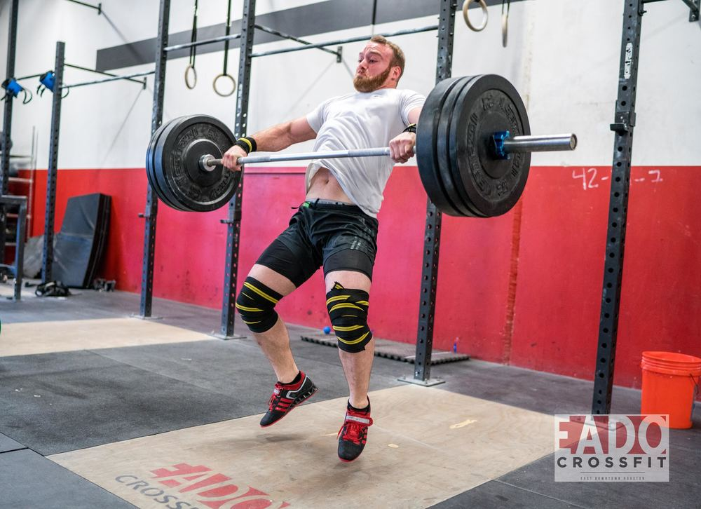 EaDo Elite Athlete Rodrigo Salas performing a snatch  Photo Credit:  Sierra Prime