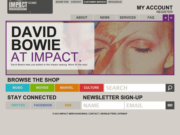 impactmerch.com | redesign art direction, design, copywriting + digital strategy