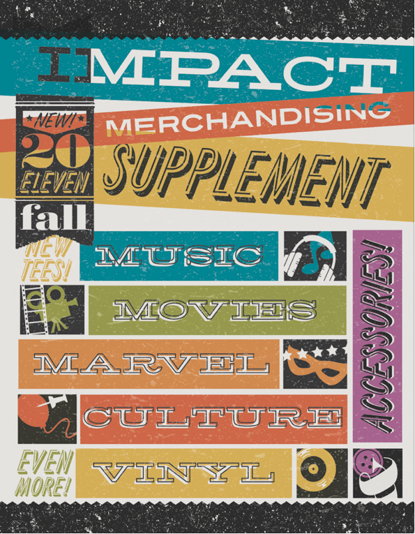 catalog supplement cover | impactmerch redesign