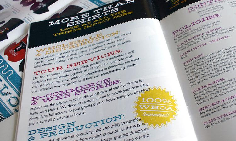 catalog detail | impactmerch redesign