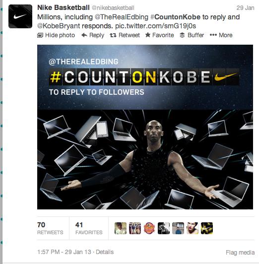 nike basketball    Count on Kobe Social + Digital — n.blauw ed06acfca