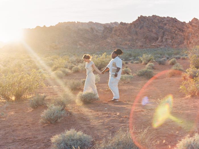 Desert Boho Destination Wedding