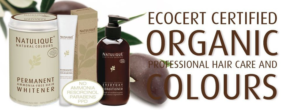 Natulique one of the highest quality and safest organic colours and products We are proud to use