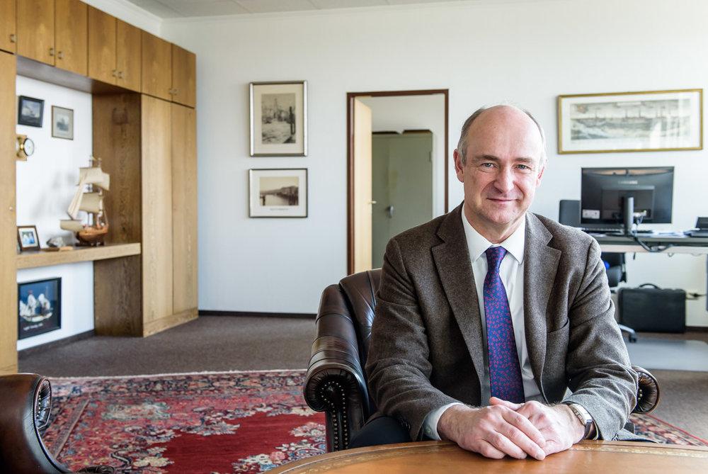 Hubertus Ritze, Geschäftsführer von WALLMANN&CO - für DER SPIEGEL