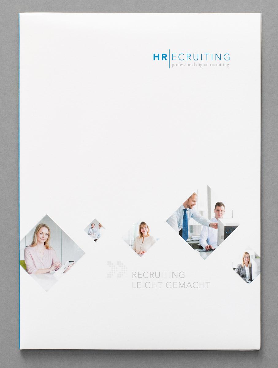 Imagebroschüre für HRecruiting