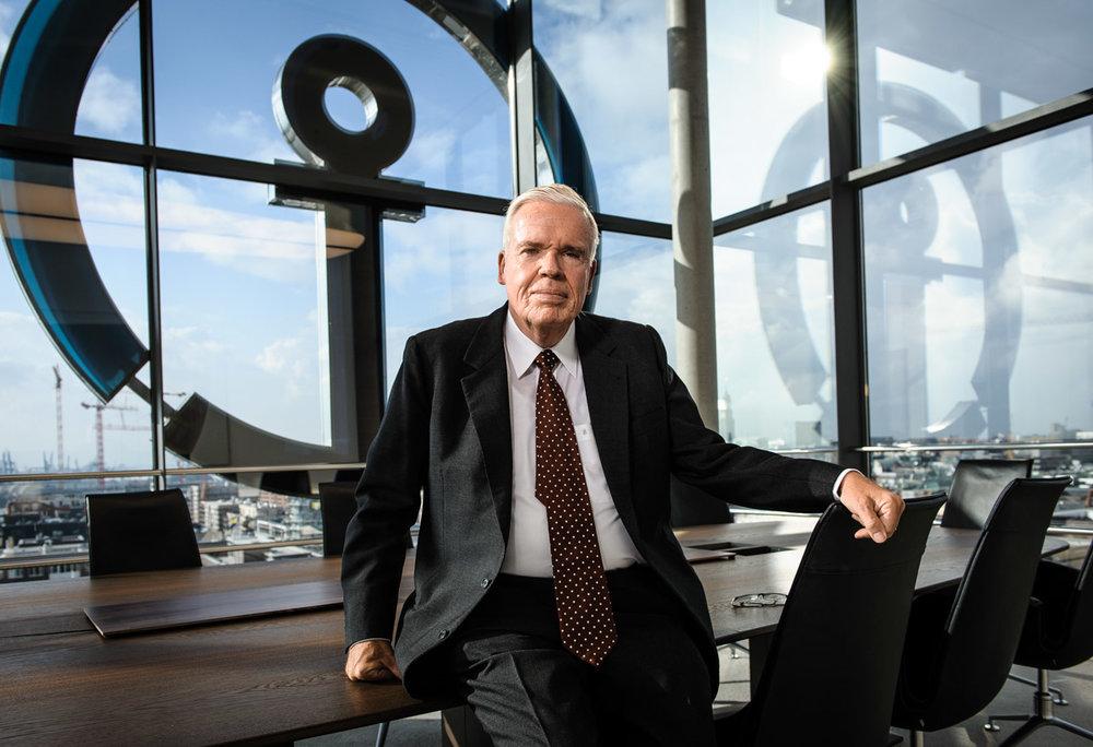 Klaus-Michael Kühne, Unternehmer - für DER SPIEGEL