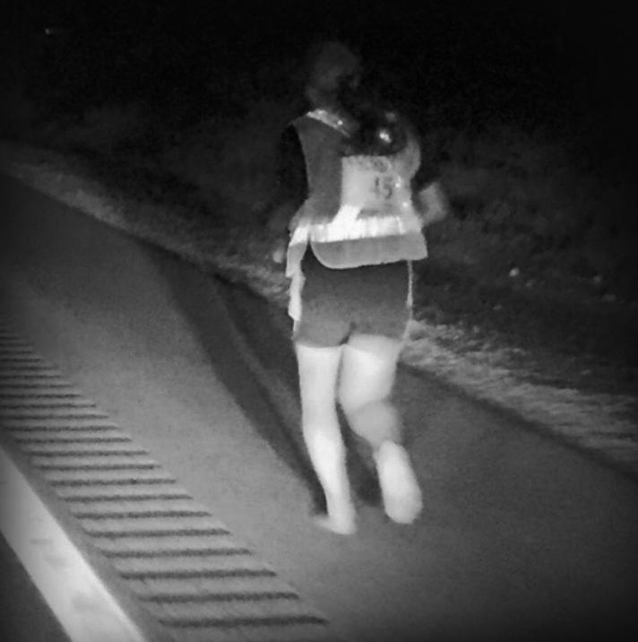 Kristina Tudor Running Barefoot!