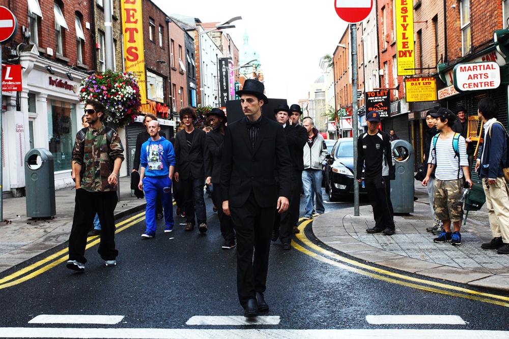 Procession. Mary Street, Dublin.