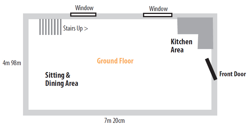 Kestral Cottage Ground Floor Layout Plans
