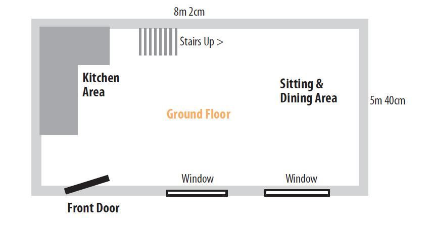 Mallard Cottage Ground Floor Layout Plans