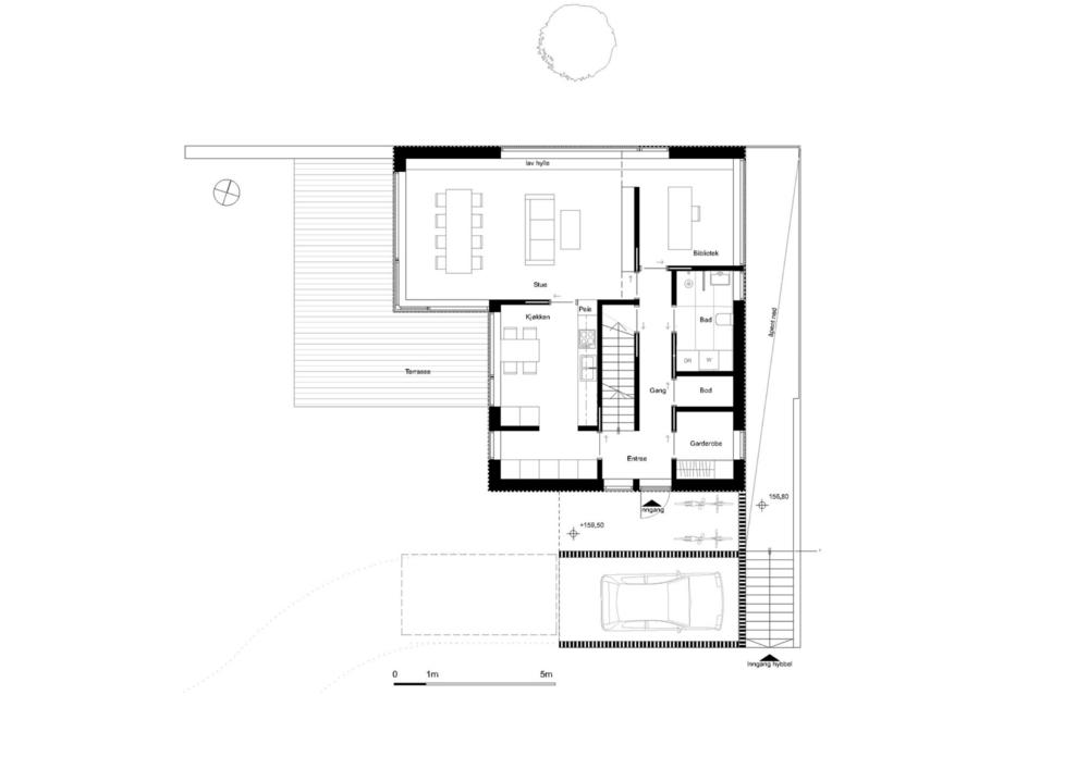 Plan 1. etasje