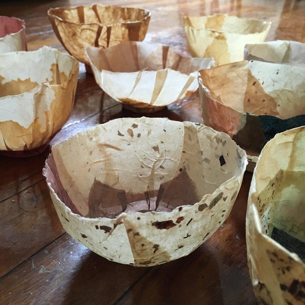 tea bowls...100 days