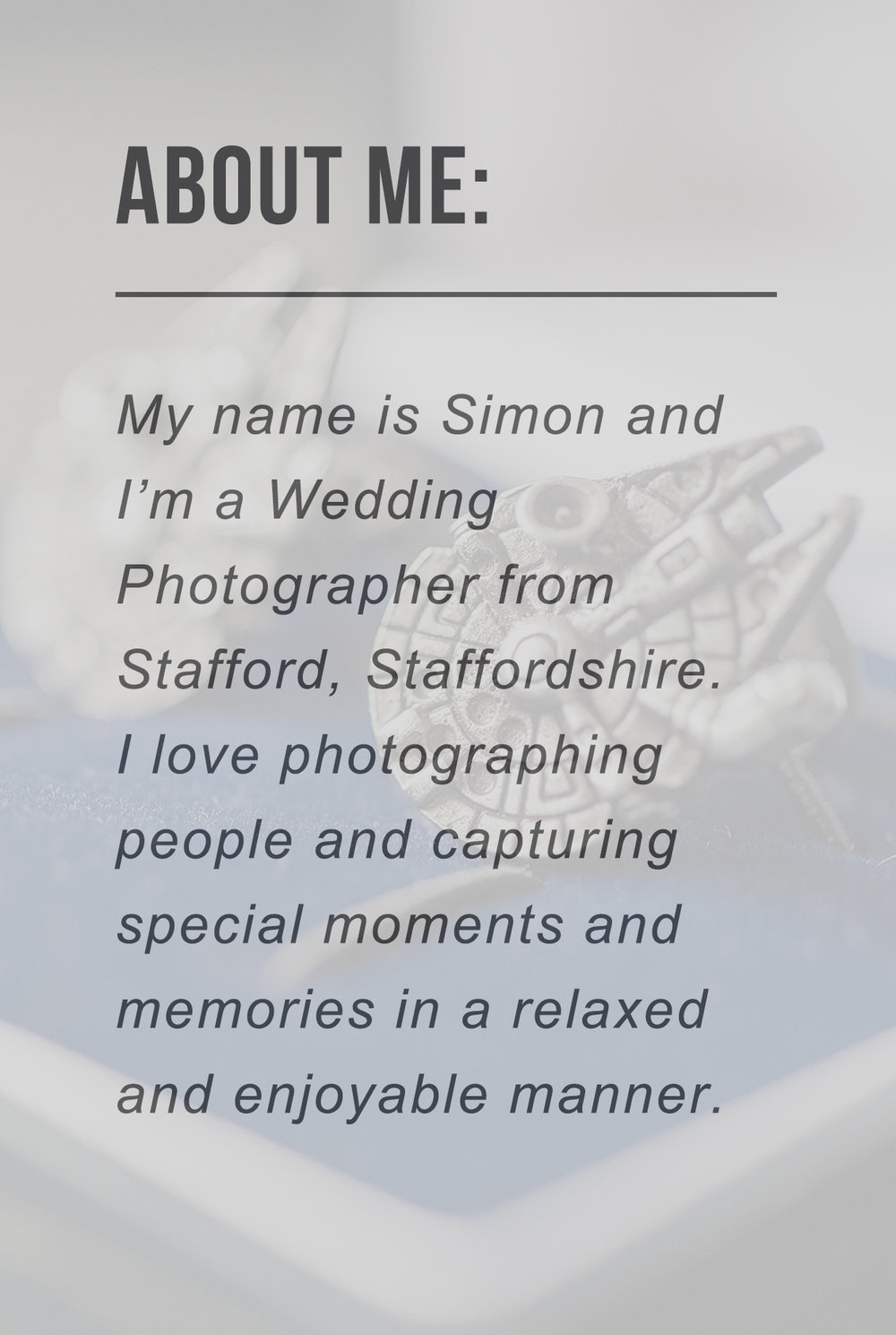 About Simon Dixey Photography