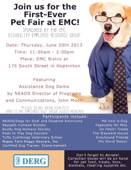 Marketing Poster for EMC Pet Fair