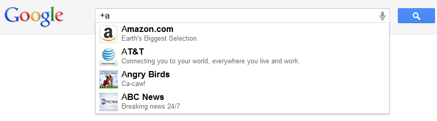 Google+ direct connect