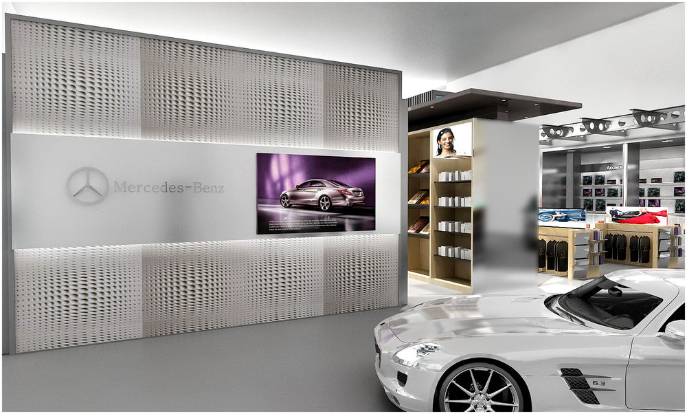 Mercedes-Benz Showroom
