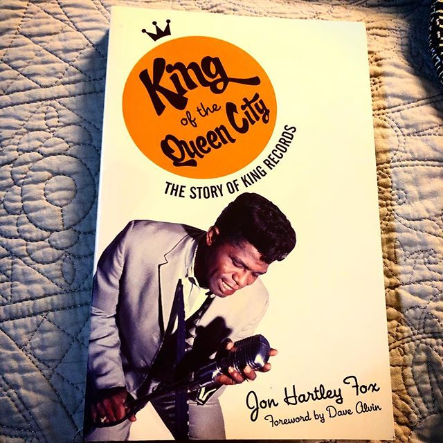 great read detailing the story of Ohio's King Records...1 of the blueprints a Funk pho sure