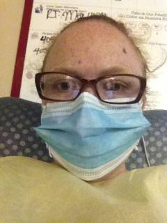 Infections were rampant. We had to wear gowns and masks when in your room.