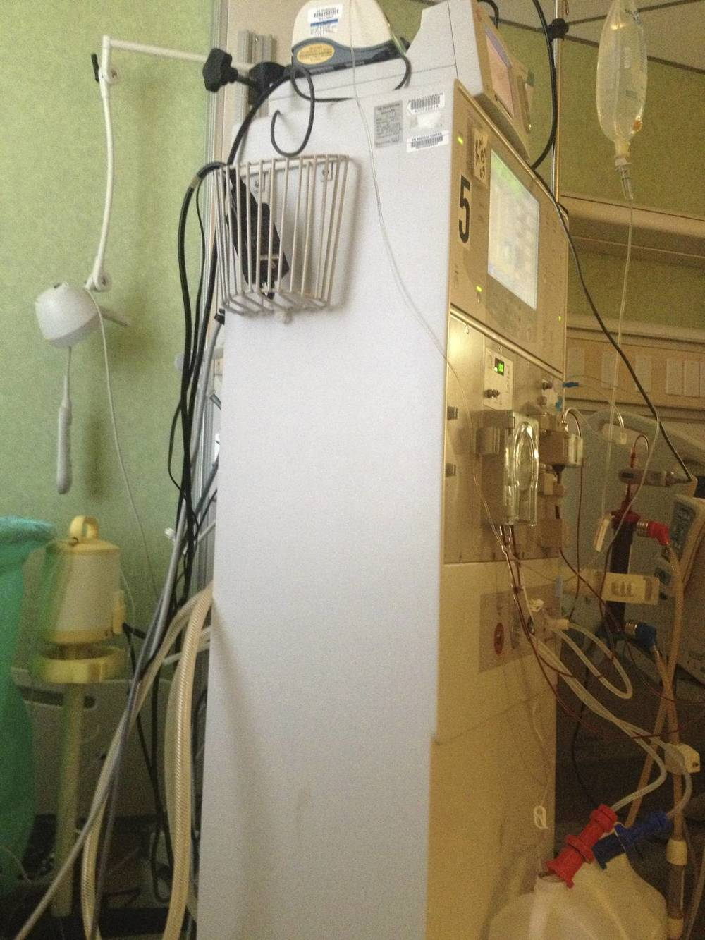 New dialysis machine works 100 times faster.