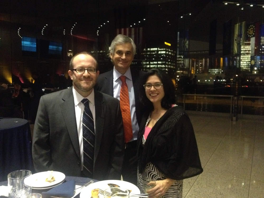 Dr. Paolo Paoletti and guests at the Wings of Hope Gala